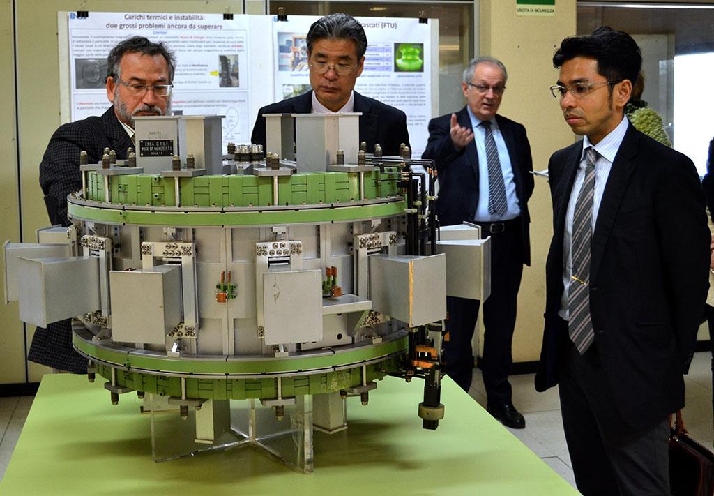 Centro ENEA Frascati - Delegazione Giapponese