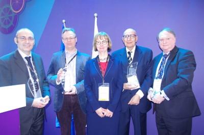 Mario Conte (ENEA), il secondo da destra