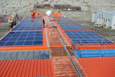 Realizzazione campo solare Antartide