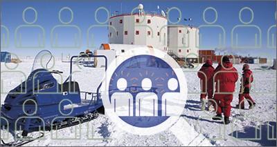 Reclutamento personale base Antartide Concordia