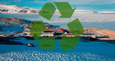 riciclo rifiuti Antartide