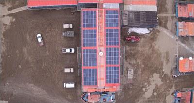 impianto solare Antartide