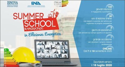 Summer School 2020 efficienza energetica