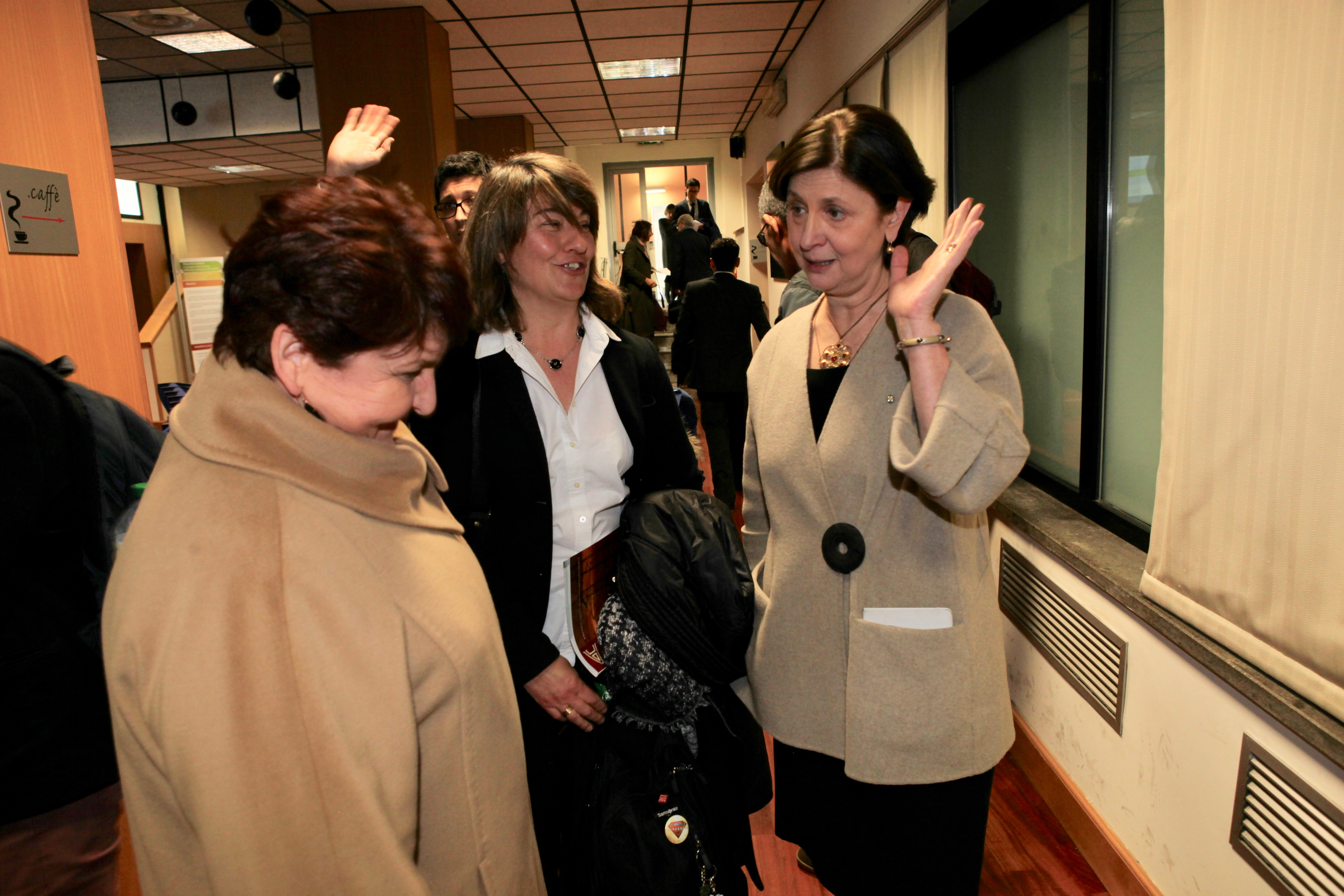 Teresa Bellanova, Claudia Canevari e Cristina Corazza