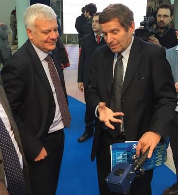 Ministro Galletti e Prof. Testa