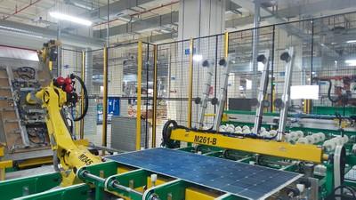 AMPERE-Bifacial-HJT-module-manufacturing-line