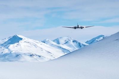 Antartide - Aereo. Foto: B. Pagnanelli