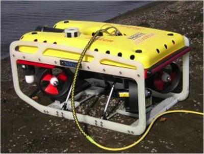 Falcon è un Remote Operated Vehicle (ROV)