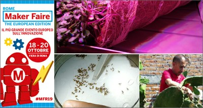 """Agroalimentare: da ENEA microverdure """"spaziali"""" e packaging 100% green al Maker Faire di Roma"""