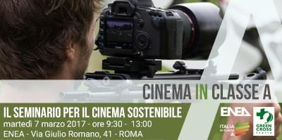 Ambiente: ENEA, iniziativa per ridurre le emissioni di CO2 nell'industria cinematografica