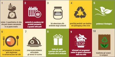 Alimentazione: Giornata Mondiale anti-spreco, da ENEA il decalogo delle buone pratiche