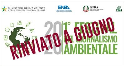 Ambiente: Rinviato a giugno il Festival del Giornalismo