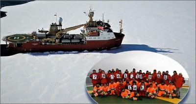 """Antartide: il record della """"Bassi"""", mai nessuna nave italiana si era spinta tanto a Sud"""