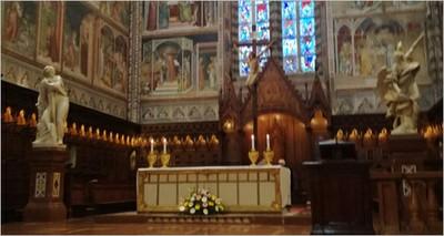 """Beni culturali: Duomo di Orvieto, basamenti antisismici ENEA per le statue di Mochi, finisce un """"esilio"""" durato 120 anni"""