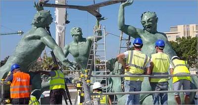 Beni culturali: hi-tech made in Italy per restauro di uno dei monumenti simbolo di Malta