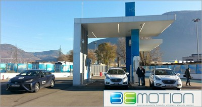Ecomobilità: idrogeno, nasce la prima stazione di produzione e rifornimento nel Lazio