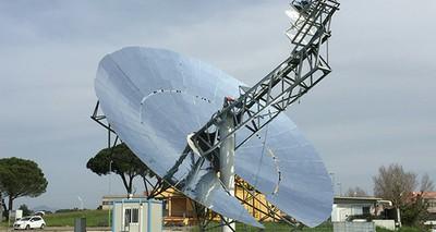 Energia: ENEA presenta il primo disco solare al mondo con microturbina ad aria