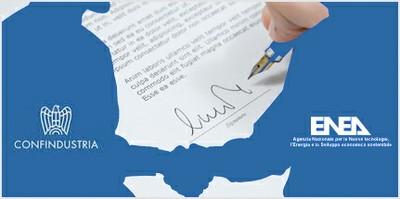 Energia:  Accordo Confindustria - ENEA per efficienza e sostenibilità ambientale