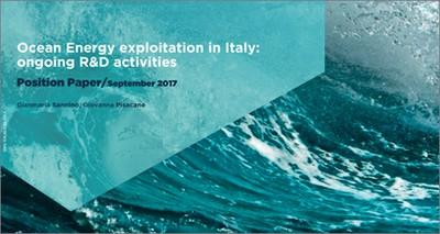 Energia: al via l'hub italiano per lo sfruttamento dell'energia dal mare