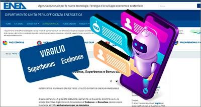 Efficienza energetica: arriva Virgilio, l'assistente virtuale per Ecobonus, Superbonus e Bonus Casa