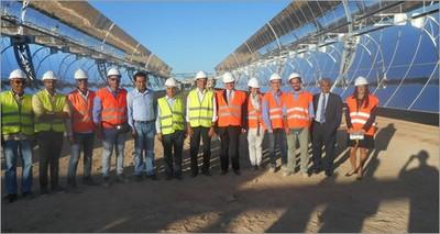 Energia: Egitto, ambasciatore Cantini visita impianto solare termodinamico con tecnologia ENEA