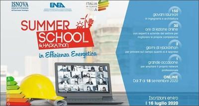 Formazione: ENEA, a settembre nuova edizione Summer school in efficienza energetica