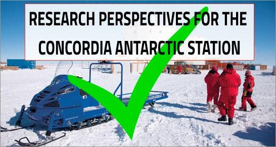 Sondaggio  indirizzato alle comunità scientifiche Francesi e Italiane interessate alla ricerca polare presso la Stazione Concordia