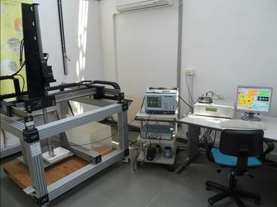 Laboratorio Caratterizzazione non distruttiva - Sistema C-Scan
