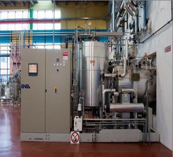 Impianto di Liofilizzazione (Crioessiccazione) Hall Tecnologica Agrobiopolis CR Trisaia (MT)