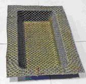 Contenitore in tessuto comminlged termoformato