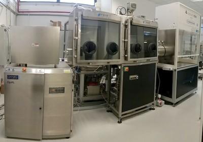 Impianto multicamera (cluster) per realizzazione di film sottili e nanostrutturati