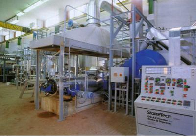Stazione sperimentale per il pretrattamento/frazionamento delle biomasse
