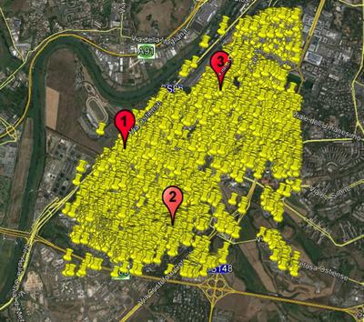 Studio del carico richiesto ad infrastrutture di ricarica rapida in una area urbana di Roma