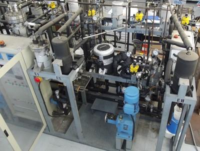 Impianto a fluidi supercritici Luwar, Centro Ricerche Casaccia