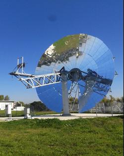 Dish solare