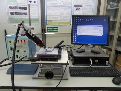 Sistema di ElectroSpark Deposition con stage motorizzato