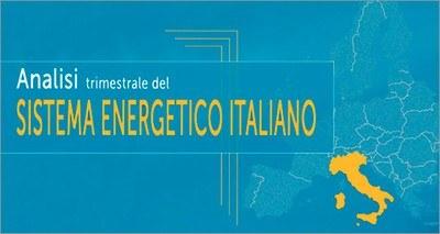 Analisi Trimestrale del sistema energetico italiano