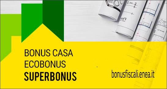 E' operativo il sito ENEA per il Superbonus 110%