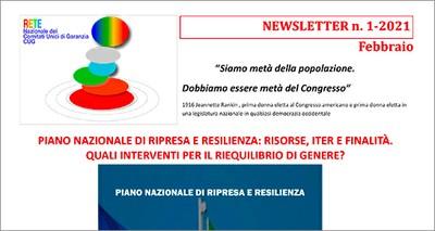 Newsletter 01/2021