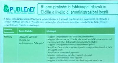 Presso la sede dell'Università di Catania il convegno  del progetto europeo   PUBLEnEf. Buone pratiche per l'efficienza energetica nella PA.  Nuove linee guida EPC: il primo  esempio in Italia