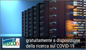 CRESCO 6 per ricerca COVID 19