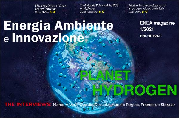 Ultimo numero rivista EAI - Pianeta Terra e Idrogeno