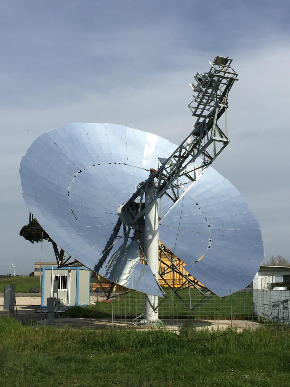 Energia Solare In Sicilia gli specchi di archimede e il disco solare — it