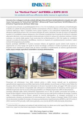 EXPO VERTICAL FARM  STAMPA rev