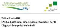 ENEA e CasaClima: Linee guida e strumenti per la Diagnosi Energetica nelle PMI