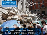 Climathon | Together we can make Rome resilient to climate changes!