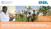 Promoting collaborative agricultural research for sustainable agri-food systems for achieving Agenda 2030