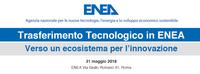 Trasferimento tecnologico in ENEA | Verso un ecosistema per l'innovazione