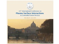 22^ International Conference on Plasma Surface Interactions in Controlled Fusion Devices