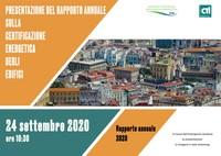 Presentazione del Rapporto annuale sulla Certificazione Energetica degli edifici